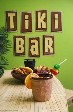 Tiki mugs and drinkware