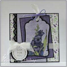 Crafting with Cotnob Craftwork Cards, Crafters Companion, Ultra Violet, Just For You, Frame, Floral, Projects, Crafting, Inspiration