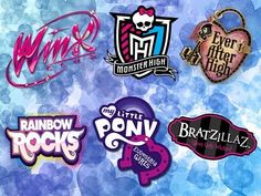 Winx club, Monster High, Ever After High, Equestria Girls, Rainbow Rock, Bratzillaz - YouTube