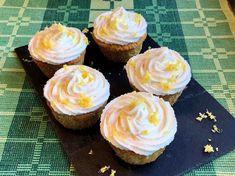 Sitruunaiset kuppikakut raikkaalla ricotta-kuorrutuksella Ricotta, Cupcakes, Baking, Desserts, Food, Mascarpone, Tailgate Desserts, Cupcake Cakes, Deserts