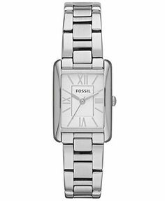 Fossil Watch, Women's Florence Stainless Steel Bracelet 24x22mm ES3325.  I love this watch!  Add to Christmas list