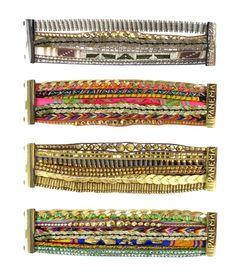 Multi strand Brasilian bracelets