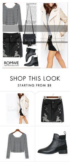 """ROMWE V/5"" by amra-mak ❤ liked on Polyvore featuring Topshop, Chicnova Fashion and romwe"
