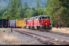 RailPictures.Net Photo: CORP 3807 Central Oregon & Pacific Railroad EMD GP38-3 at Hugo, Oregon by Charles Bonville