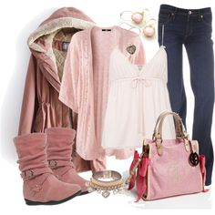 """Pinkalicious"" by debbie-probst on Polyvore"
