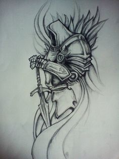 Image result for tyrael drawing