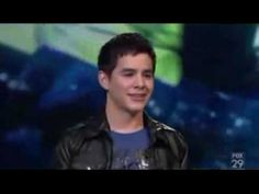 David Archuleta  ~Imagine~    first time that voice made me cry...certainly was not the last. Most beautiful voice ever....
