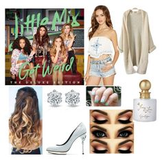 """""""Get weird"""" by hey-shanay on Polyvore featuring Forever 21, Oscar de la Renta and Jessica Simpson"""
