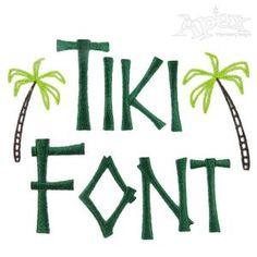 Download bamboo font   Typophile   Freaky Tiki 2   Tiki font, Fonts ...