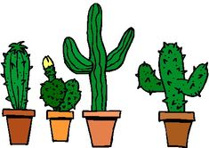 he later pleaded particular to a general handkerchief tree and was rh pinterest com cactus clip art free border cactus clip art images