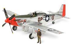 Tamiya 25151 North American P-51 D Mustang (Silver)