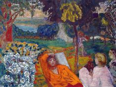 Pierre Bonnard - Dans un jardin meridional, 1914 at Kunstmuseum Bern Switzerland