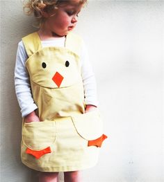 An adorable little duckling/ chick dress. Wild Things unique character play dresses are guaranteed favourites with little ones, as they promote ro ...