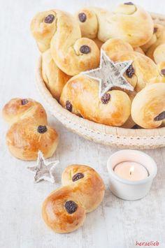 Lussekatt rezept backen lucia schweden herzelieb-4 (Christmas Bake Snacks)