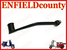 BRAND NEW VESPA BLACK POWDER COATED KICKSTARTER LEVER PEDAL KICK PX LML