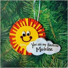One of a kind handcrafted and personalized Christmas Ornaments & Magnets for your holiday and FE gift needs, made by Keepsakes by Nicolina! Personalized Christmas Ornaments, You Are My Sunshine, Keepsakes, Personalized Gifts, Holiday Decor, Art, Custom Christmas Ornaments, Souvenirs, Art Background