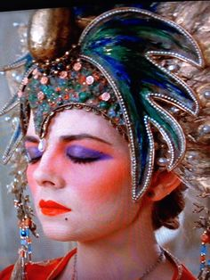 """""""She's got green eyes"""" Big Trouble in Little China Eve Costume, Bride Costume, Costume Makeup, Cosplay Costumes, Cosplay Ideas, Costume Ideas, James Hong, Halloween Party, Halloween Costumes"""