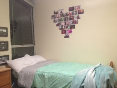 My dorm room at UNCSA College Dorms, Dorm Room, Photo Wall, Home Decor, Dormitory, Homemade Home Decor, Fotografie, Dorm Rooms, College Dorm Rooms