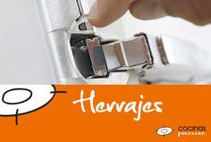Los herrajes de cocinas.com cuentan con tecnología innovadora de la empresa Blum de las más altas gamas. #herrajes #cocinas