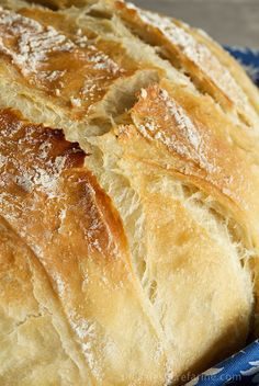 Simplified version 5 Minute Artisan Bread with ***Tutorial***. Sound too good to be true? You'll think your kitchen's been transformed to a European bake shop! Easy Bread, Bread And Pastries, Bread Rolls, How To Make Bread, Bread Baking, Baking Recipes, Fast Recipes, Food And Drink, Yummy Food