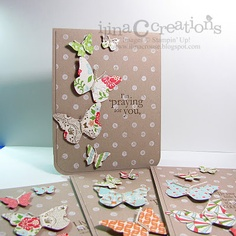Everyday Enchantment dsp with Distressed Dots background stamp & Beautiful Wings embosslit