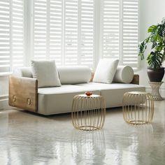 Deco Sofa from Matter -  a modernist approach to Art Deco