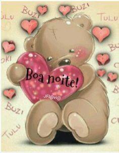 ♥� Tedy Bear, My Teddy Bear, Mom Website, Good Night, Photos, Relationship, Diet Water, Portuguese, Snoopy