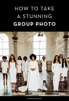 How to take a group wedding photo like Solange Knowles