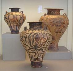 Bronze Age Greek Vases