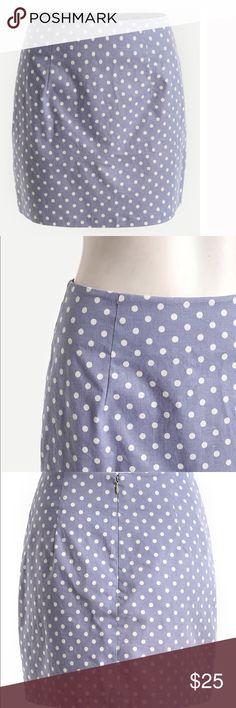 🆕👄Cotton polka dot zipper back skirt Item#HPX1448407N measurements L Waist Size:28.0inch,  Hip Size:37.8inch,  Length:15.7inch. Skirts