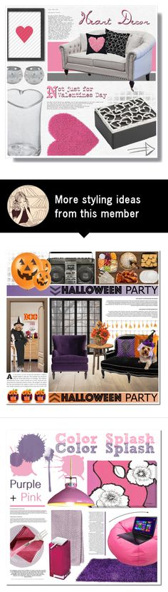 """""""Heart Decor"""" by foreverdreamt on Polyvore featuring interior, interiors, interior design, home, home decor, interior decorating, Simon Pearce, NOVICA, Americanflat and Michael Aram"""