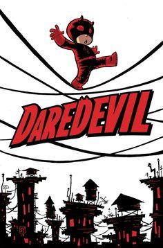 Baby Daredevil By Skottie Young