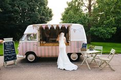 ice cream van wedding