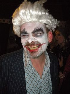Me at Couchsurfing's Halloween Party in Krakow. Big improvment eh? No joker!