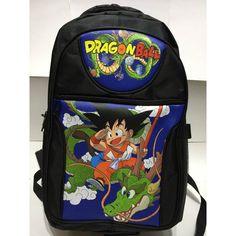 cool Anime Dragon Ball Super Saiyan Son Goku School Backpack Bag  -