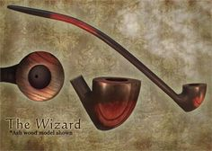 This pipe is handcrafted from specially selected Ash wood. The Wizard is fitted with a long Ash wood stem, which detaches for easy cleaning. Churchwarden Pipe, Wooden Pipe, Picture On Wood, The Conjuring, Give It To Me, Handmade Gifts, Etsy, Weed, Smoke Rings
