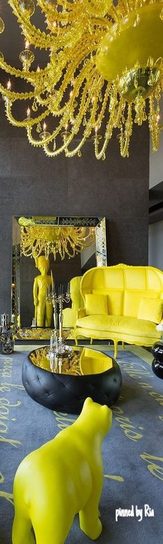 PAPARAZZO OF INTERIORS l Philippe Starck