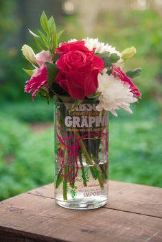 Twice Drunk - Absolut Grapevine vase