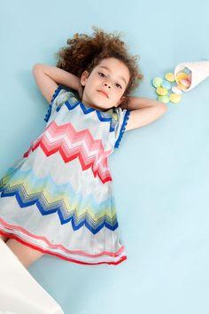 Signature zigzag style at Missoni childrenswear spring 2016