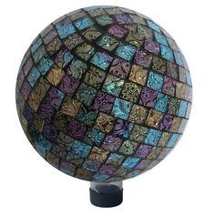 Alpine Mosaic Gazing Globe
