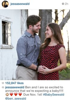 JESSA IS PREGNANT!! They are calling him/her Baby Seewald!