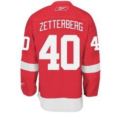 Reebok Edge Premier Detroit Red Wings Henrik Zetterberg Jersey, Men's, Size: Medium