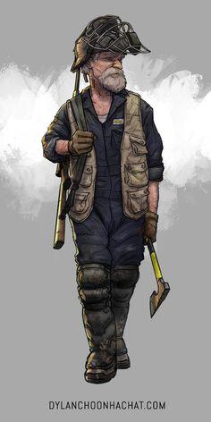 Baseball, Dylan Choonhachat on ArtStation at https://www.artstation.com/artwork/the-survivors