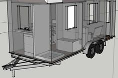 160 best teeny house images on pinterest in 2019 tiny house home rh pinterest com Tiny House Trailer Build Plans Modern Tiny House On Wheels