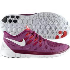47c4b5bcace76 Nike Womens Free 5.0 Running Shoes Purple White 642199 501 Tennis  Accessories
