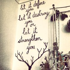 Wall writing.. so would love something like this!