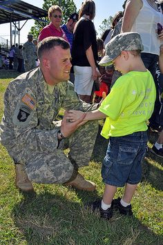 Ideas to help military children cope with deployment by keeping them connected with long-term projects, activities and programs.