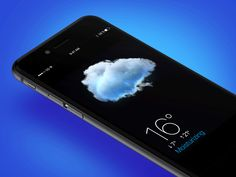 "UI/UX: ""Realistic"" 3D Weather App"