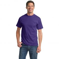 Port & Company PC61 Essential T-Shirt - Purple | FullSource.com