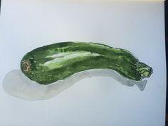 Zucchini by cindy phelan